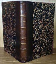 COSMOS - Reliure éditeur de la revue années 1888/1889 (17 NUMÉROS) SCIENCES