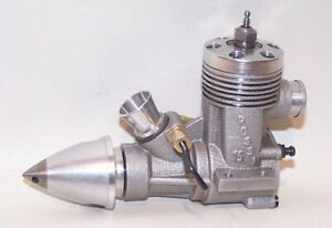 Excellent Rossi .15 Front Intake Rear Exhaust Control Line Racing Model Airplane