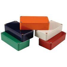 Hammond 1590b2or Aluminium moulé pédale d'Effets orange 112 x 60 x 38