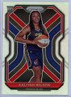 2021 WNBA Prizm AALIYAH WILSON RC #99 Silver Indiana Fever - BEAUTIFUL CARD!