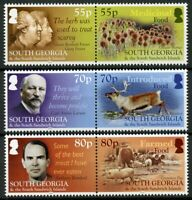 South Georgia & S Sandwich Isl 2019 MNH Food 6v Set Plants Deer Pigs Stamps