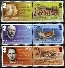 More details for south georgia & s sandwich isl 2019 mnh food 6v set plants deer pigs stamps