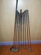 Assorted Vintage Golf Clubs, Lot of 10, RAM, TITLEIST, Medicus, T-Line