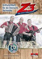 Z3 Die drei Zillertaler incl. CD, Noten Steirische Harmonika, Klausner