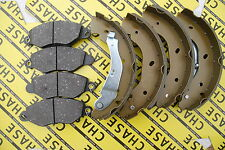 Ford Transit FWD 2000-2006, New Brake Pads And Brake Shoes