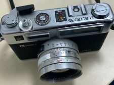 YASHICA ELECTRO 35 GSN 35mm Film Rangefinder Camera 45mm F1.7 Lens - Silver