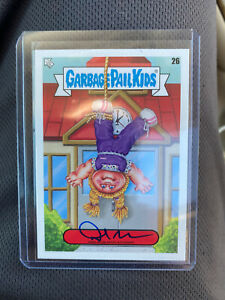 2020 Topps Garbage Pail Kids Late To School David Gross #26 Auto SP #'D 14/35