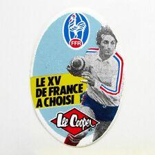 Autocollant LE XV DE FRANCE - LEE COOPER   -  Année 80/90  - Vintage