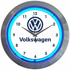 Volkswagen Neon clock racing das auto decor dealership lamp Vw jetta golf 2017