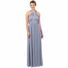 Debut  Blue Multiway Evening Dress Size 8 rrp £99 LS079 CC 15