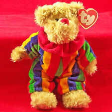 New Listing Ty Piccadilly Bear Beanie Babies Doll 1993 Circus Clown Stuffed Bean Bag Cute