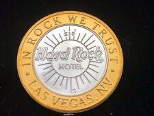 HARD ROCK Las Vegas $10 TEN Dollar Gaming Token .999 Fine Silver MR LUCKY'S