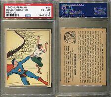 1940 GUM INC. SUPERMAN #41 ROLLER COASTER RESCUE PSA 6 (3537)