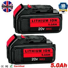3x 5.0ah 18v Volt Li-ion Battery for Dewalt Dcb184 Dcb200 Dcb180 Dcd785 XR Slide