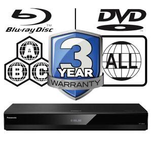Panasonic DP-UB820 All Zone Code Free MultiRegion 4K UHD Blu-ray Player