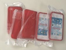 Wholesale Joblot 20x Silicone Case Back Cover S-Line For iPhone 4/4s In Red