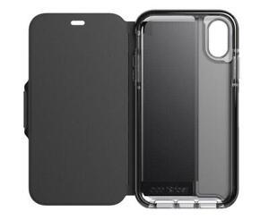 Original Tech21 Evo Wallet for Apple iPhone XR Smokey Black