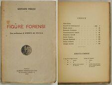 Porzio FIGURE FORENZI 1923 Morano Napoli Oratori Napoletani '800