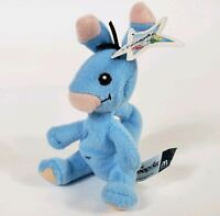 McDonald's 2004 BLUE BLUMAROO Mini Stuffed Plush Neopet With Tag Collectible