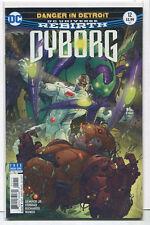 Cyborg #12 Nm Rebirth Danger In Detroit Dc Comics Cbx1S