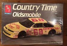1991 Country Time Oldsmobile Model Kit 1:25 # 68  Nascar Car Bobby Hamilton AMT