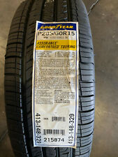 4 New 205 60 15 Goodyear Assurance Comfortred Touring Tires
