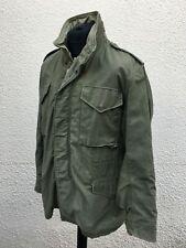 Vintage U.S Army Military M-65 Field Coat Jacket Large