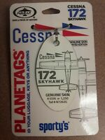 Cessna 172 Plane Tag / Planetags - Free Shipping!