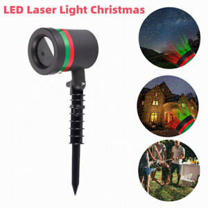 Outdoor LED Laser Light Landscape Projector Christmas Party Garden Lawn Lamp