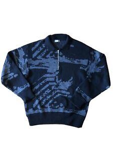 Comme Des Garcons Homme 1/4 Zip Sweater.