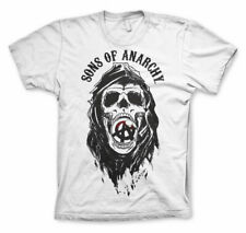 Officially Licensed Sons of Anarchy Draft Skull Men's T-Shirt S-XXL Sizes