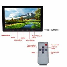 Ultrathin 10.1'' HDMI VGA AV Car Monitor HD Display for Raspberry Pi 3/2/B+/PC