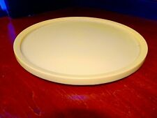 Vintage Rubbermaid Lazy Susan Golden Yellow 10