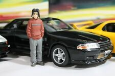 1/18 Initial D Nissan Skyline GT-R R32 Night Kids Takeshi Nakazato JDM Jada Toys