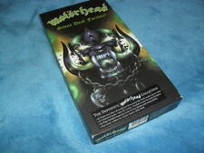 MOTORHEAD -STONE DEAF FOREVER- AWESOME LTD EDITION BOX SET 5 DISC MINT RARE