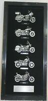 Harley Davidson Pewter Motorcycles Display Case 2007 Mesa, Arizona