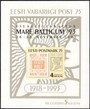 Estonia 1993 Stamp Exhibition/First Postage Stamp/Philately/StampeEx  m/s ee1090