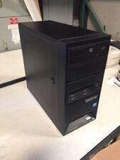 LENOVO THINKSERVER TS130 i3-3225 3.3GHZ/ 4GB RAM/2 x 500GB HDD's, DVD DRIVE