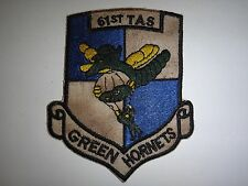 Vietnam War Patch US 61st Tactical Airlift Squadron GREEN HORNETS