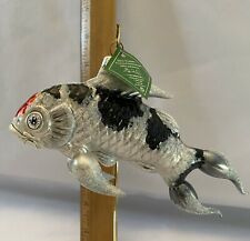 New listing Koi Fish Glass Ornament Slavic Treasurers