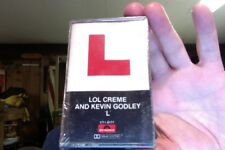 Lol Creme and Kevin Godley- L- 1978- new/sealed cassette tape- rare?