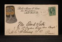 Pennsylvania: Mill Hall 1881 Robert Mann Cast Steel Axes Advertising Cover