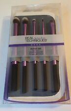 REAL TECHNIQUES BY Sam & Nic Eyes Starter Set with Panoramic Case New Sealed