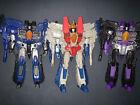 Transformers Combiner Wars Starscream/Thundercracker/Skywarp SEEKERS Lot + BONUS