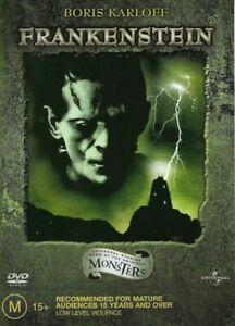 Frankenstein ~ Boris Karloff (Region 4 DVD) *Black & White Presentation*