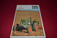 Deutz D 80 06 Tractor Dealer's Brochure AMIL13