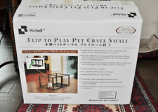 Richell Flip To Play Pet Crate Small For Extra Small to Small Dogs