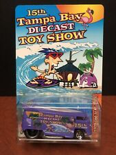 Hot Wheels 15th Annual Tampa Bay Diecast Show Volkswagen Drag Bus 1 Of 65 EM2956
