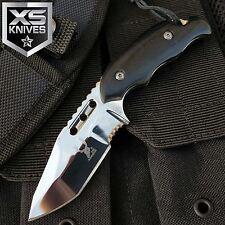 "6"" Bone Edge Tactical SURVIVAL Fixed Blade FULL TANG HUNTING CAMPING Knife"