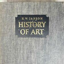 H.W. JANSON – HISTORY OF ART Hardcover book 1973
